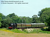 30541 crosses Poleay Bridge with a service train.  27.06.2015  11548