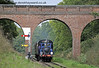 323 hauls an Autumn Tints train south through Three Arch Bridge.  02.10.2014  10052
