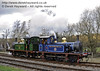 323 Bluebell and 178 run round at Kingscote.  21.01.2012  3518