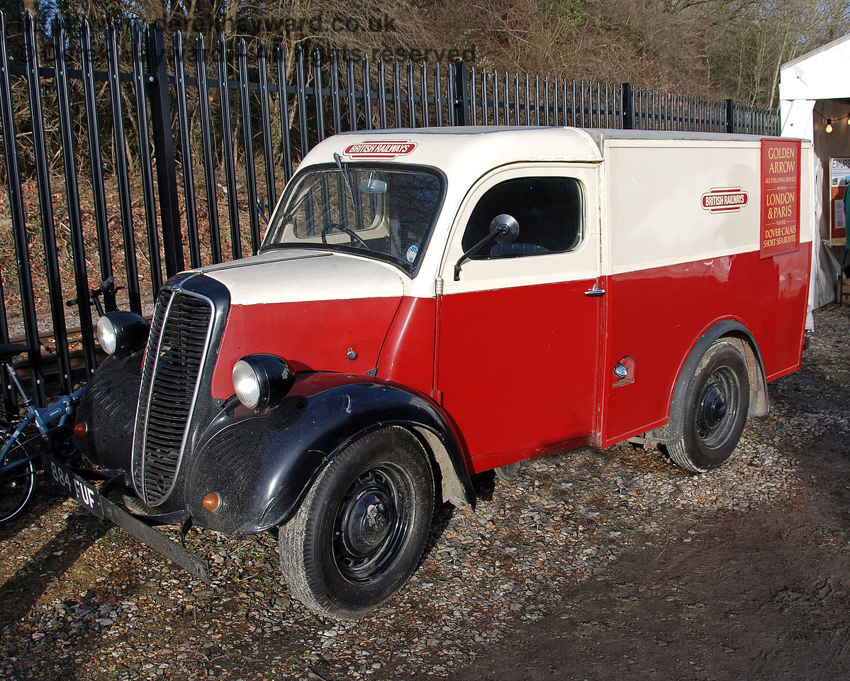 A British Railways van. East Grinstead 17.01.2009  33