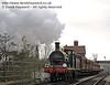 592 crosses the River Ouse Bridge with a service train.  05.04.2014  8896
