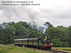 592 approaches New Road Bridge with a service train.  05.07.2014  9780
