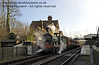 592 at Sheffield Park with a Victorian Christmas train.  20.12.2013  9916