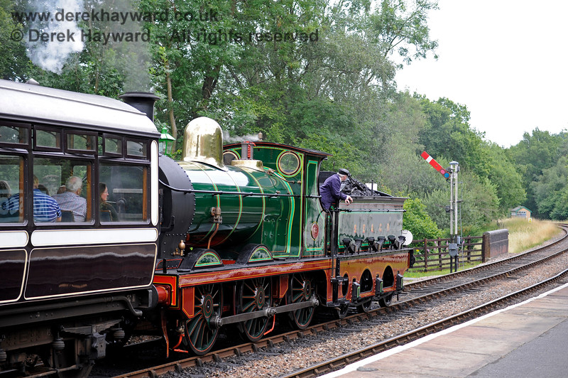 65, in excellent external condition, about to leave Kingscote during it's first public runs following return to service.  15.07.2017 15806