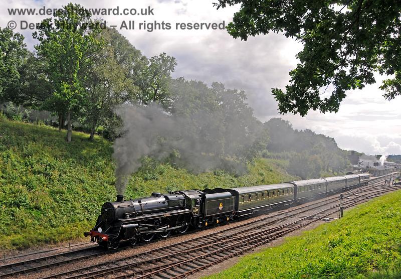 73082 Camelot departs from Horsted Keynes. 19.08.2017 17666
