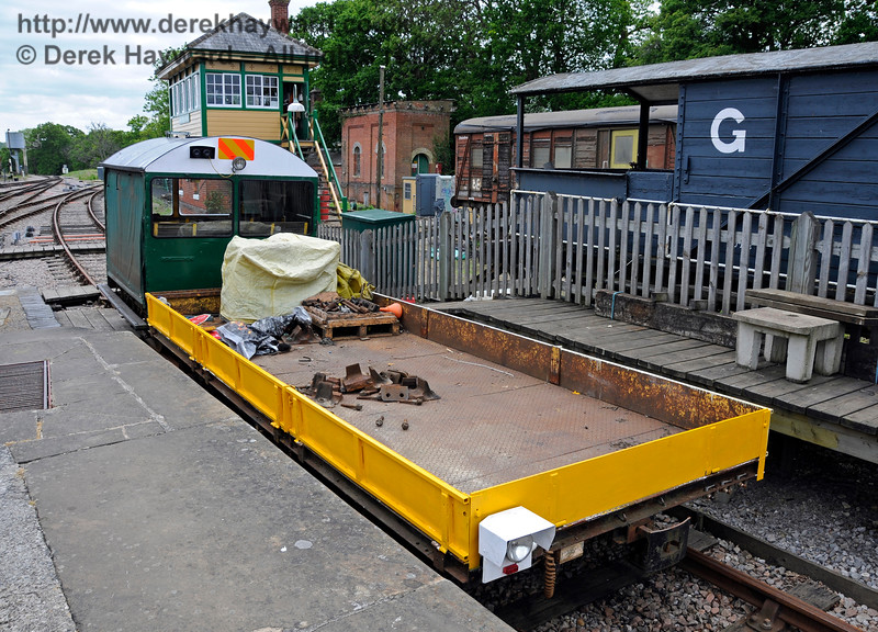 Newly restored Type 18A Wickham trolley DXN68001.01 at Horsted Keynes.  25.05.2015   12668