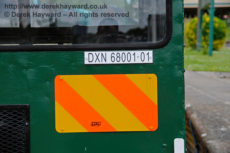 Newly restored Type 18A Wickham trolley DXN68001.01 at Horsted Keynes.  25.05.2015   12671