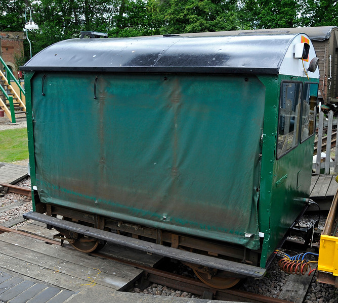 Newly restored Type 18A Wickham trolley DXN68001.01 at Horsted Keynes.  25.05.2015   12669