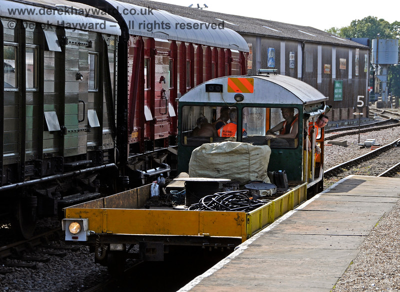 Type 18 Wickham trolley DXN68001.01 at Horsted Keynes. 24.09.2017 17950