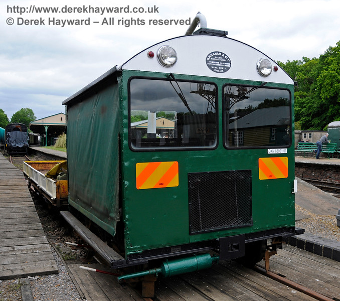 Newly restored Type 18A Wickham trolley DXN68001.01 at Horsted Keynes.  25.05.2015   12673