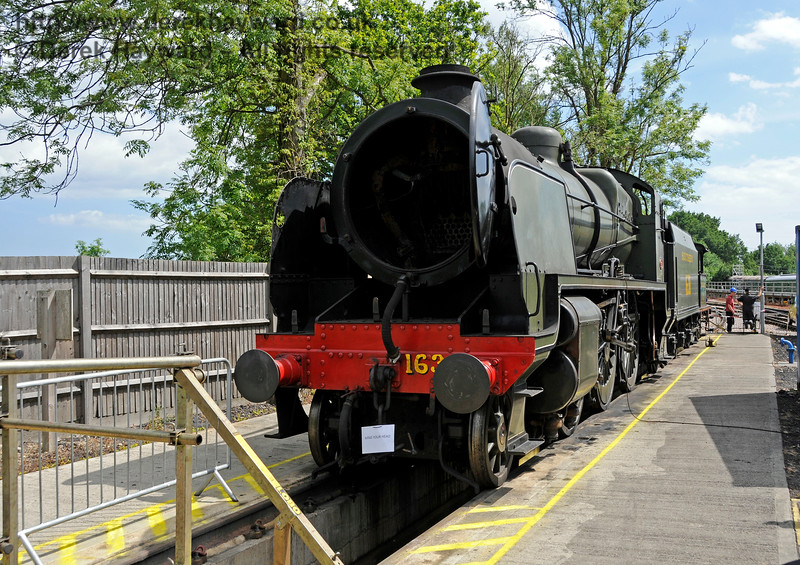 1638 on the Wash Out Pit at Sheffield Park a few days before being withdrawn.  27.06.2015  13134