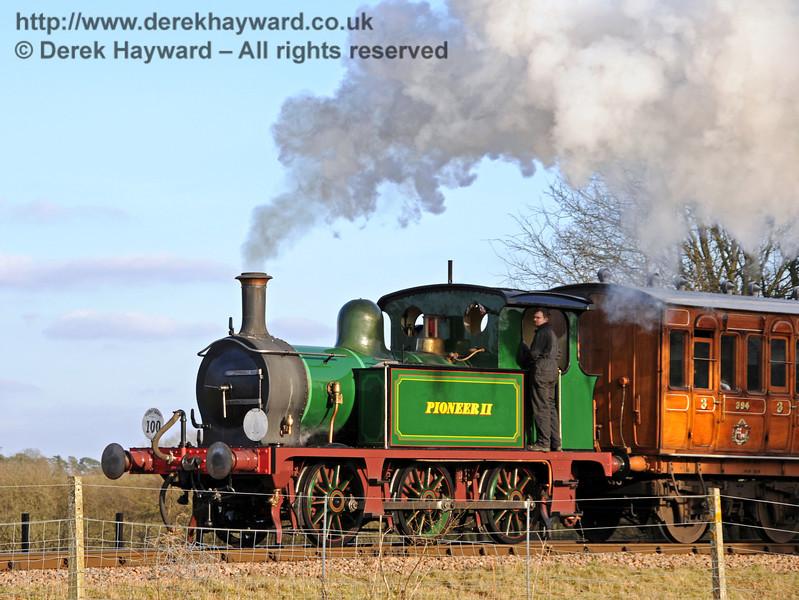 Pioneer II (178) leaves Sheffield Park. 06.03.2010  1113