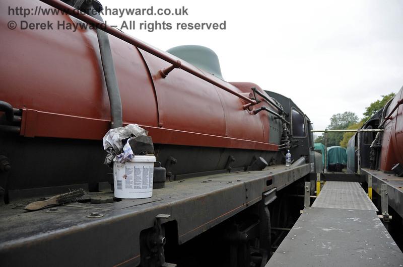 75027 in red oxide. Horsted Keynes 21.10.2011  3004