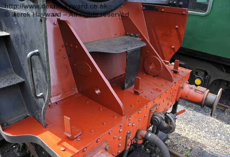 92240 being repainted at Horsted Keynes.  30.05.2012  4932