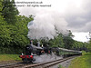 9017 Earl of Berkeley creates steam effects as it moves north from Leamland Bridge.  26.05.2011  7368