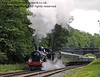 9017 Earl of Berkeley steams north from Leamland Bridge.  26.05.2011  1729