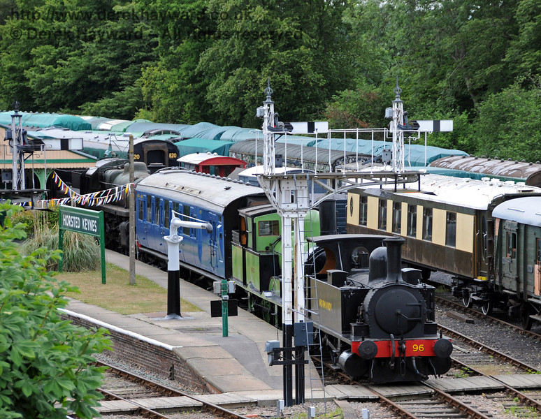 488 and 96 Normandy have been moved to Horsted Keynes and are now on display in Platform 1.  07.07.2010  3062