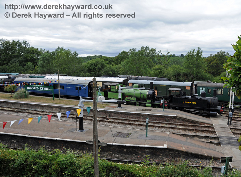 488 and 96 Normandy have been moved to Horsted Keynes and are now on display in Platform 1.  07.07.2010  3058