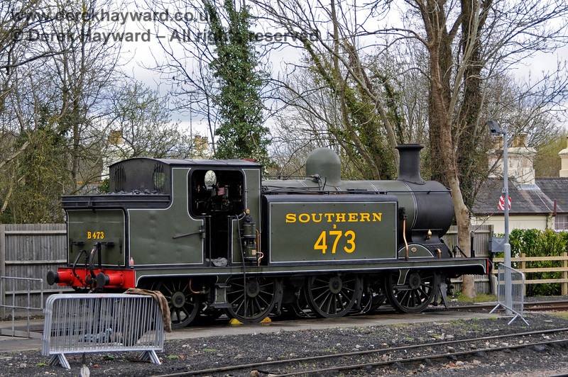 B473 on shed at Sheffield Park. 16.04.2016 14837