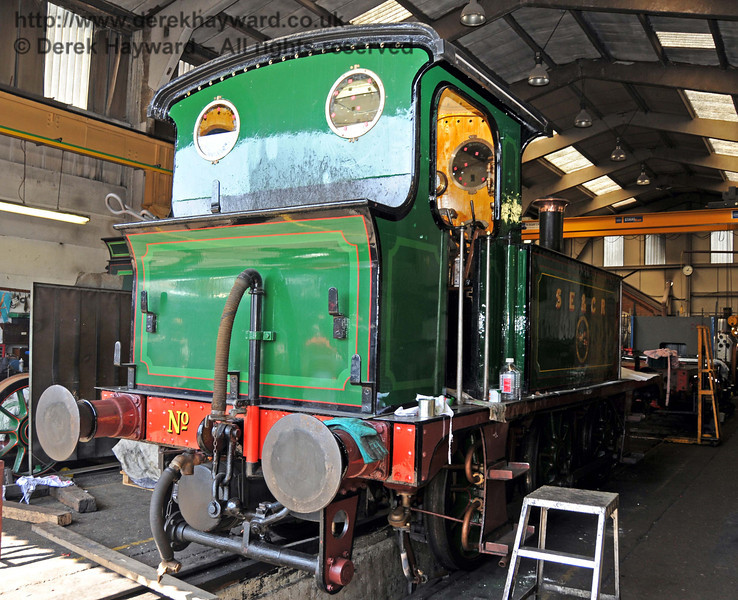 The rear offside of 178. Sheffield Park Workshops 17.04.2010  1921