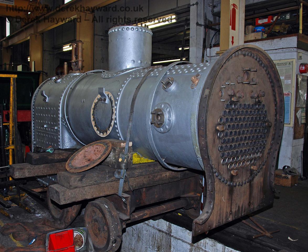 The boiler from 178 in Sheffield Park Workshops 24.01.2010