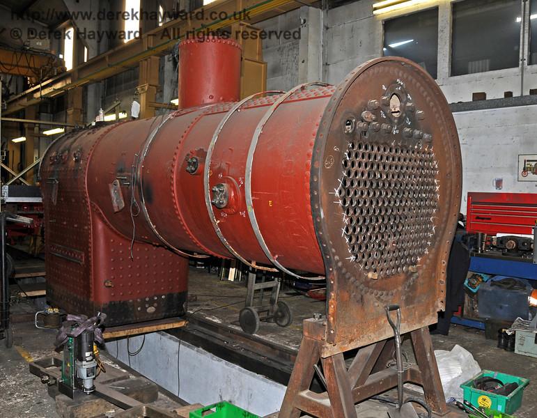 The boiler from 263. Sheffield Park Workshops 01.01.2010