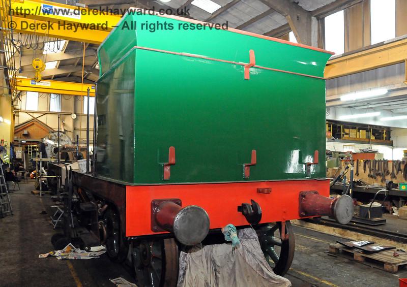 The bunker of 263. Sheffield Park Workshops 10.10.2010  5121