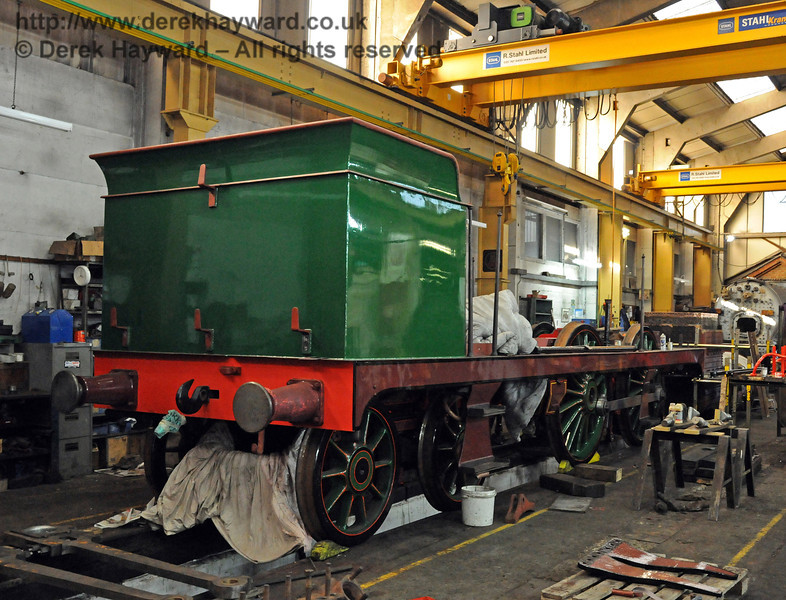 The rear offside of 263. Sheffield Park Workshops 10.10.2010  5123
