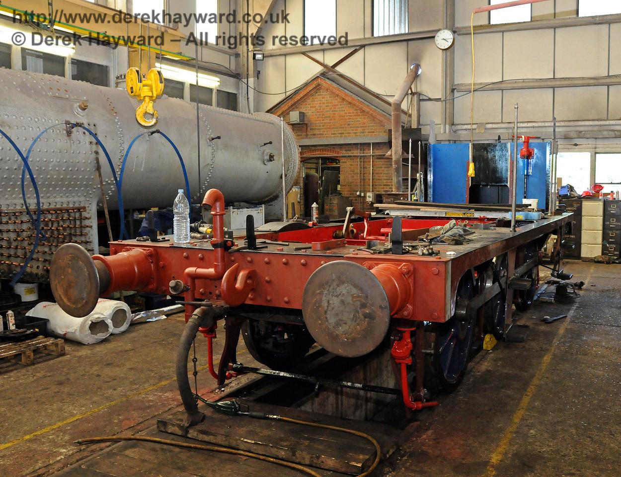 The frames from 323 Bluebell. Sheffield Park Workshops 18.07.2010  3165