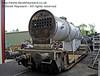 The boiler for 847 outside Sheffield Park Workshops.  01.06.2013  7164