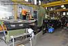 The frames and cab roof for 847 inside Sheffield Park Workshops.  01.06.2013  7161