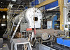 The boiler for 847 inside Sheffield Park Workshops.  06.04.2013  6714