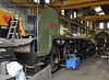 The frames for 847 inside Sheffield Park Workshops.  01.06.2013  7163