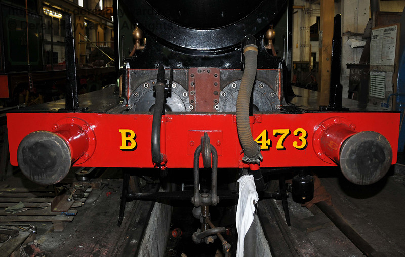 B473 in Sheffield Park Workshops. 01.01.2010