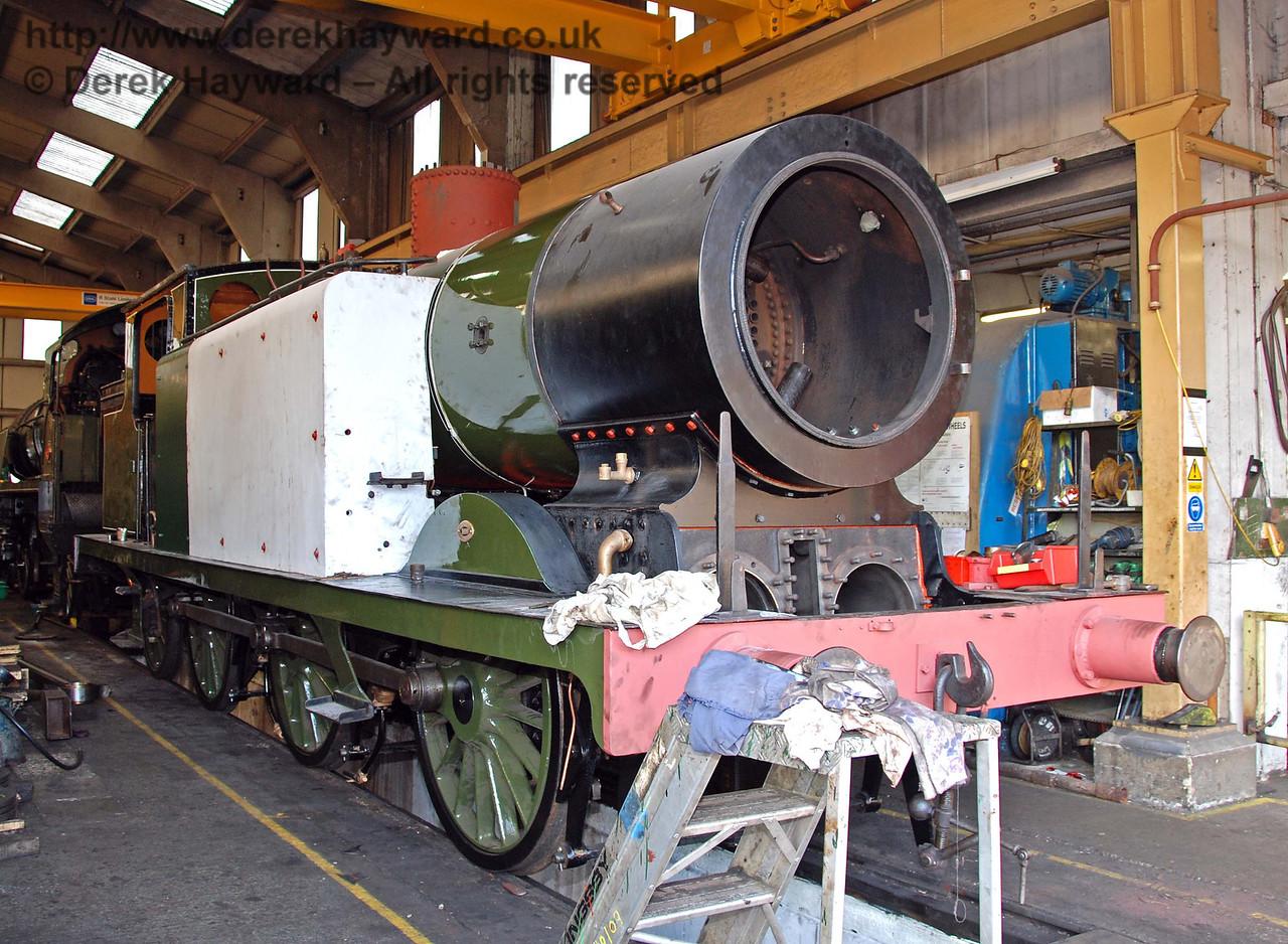 Progress on B473 continues. 27.09.2009.