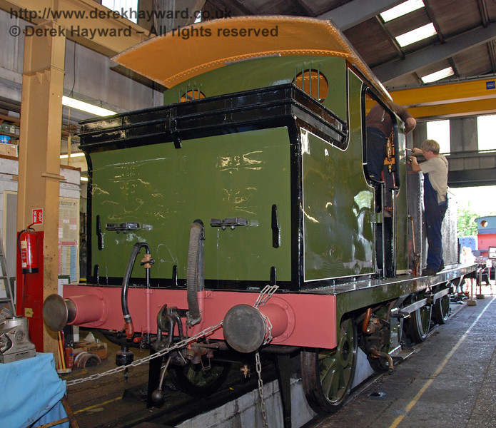 A rear view of B473. Sheffield Park Workshops 12.09.2009
