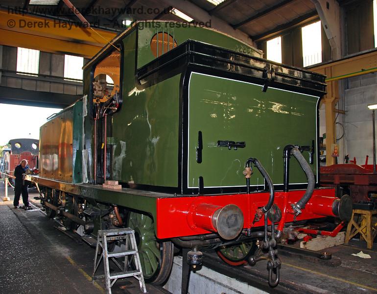 Progress with B473. Sheffield Park Workshops 10.10.2009