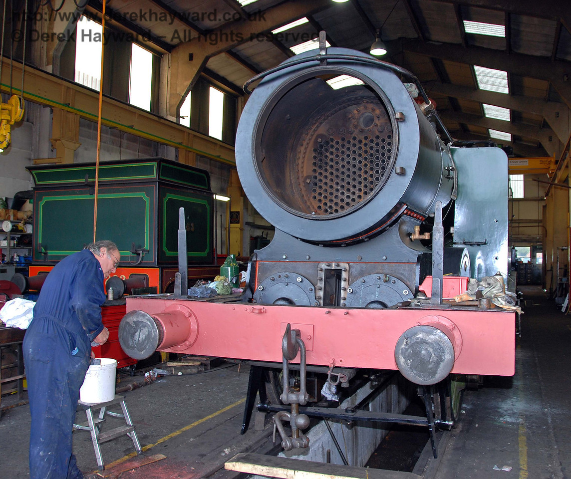 Progress with B473. Sheffield Park Workshops 10.10.2009