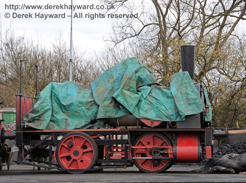 Baxter has been reassembled, but you can't see it all yet.  Watch this space... Sheffield Park Shed 13.03.2010  1368