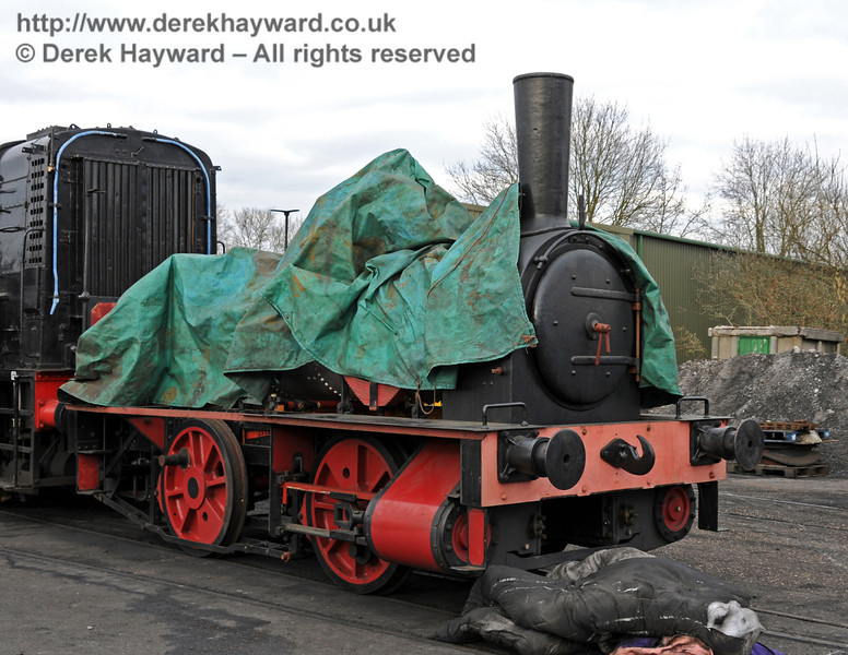Baxter has been reassembled, but you can't see it all yet.  Watch this space... Sheffield Park Shed 13.03.2010  1372