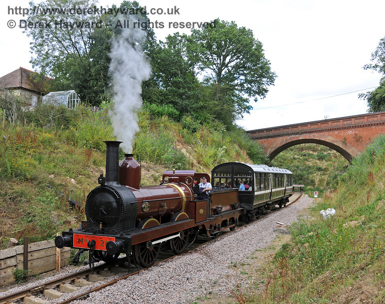 Furness Railway No.20 at Imberhorne Lane.  07.08.2010  3777