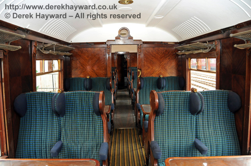 The interior of Car 88. Horsted Keynes 08.08.2010  3852