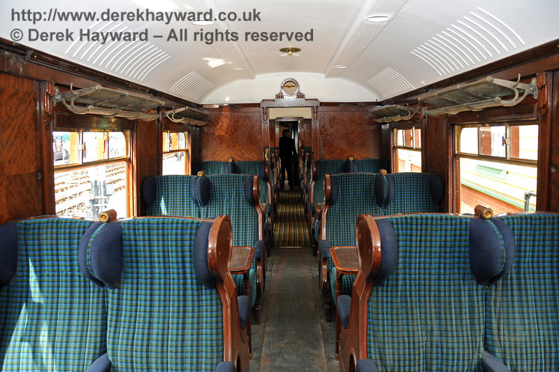 The interior of Car 88. Horsted Keynes 08.08.2010  3848