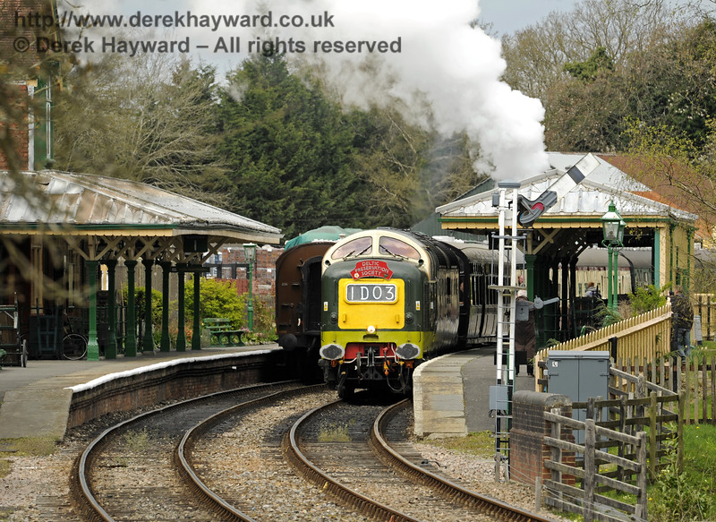 D9009 Alycidon at Kingscote.  19.04.2015  10810