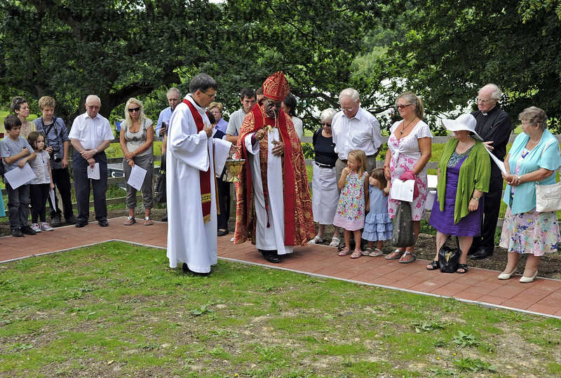 Blessing the Garden.  03.07.2011   2181