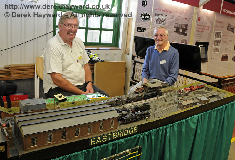 Eastbridge.  Model Railway Weekend, Horsted Keynes, 30.06.2013  9290