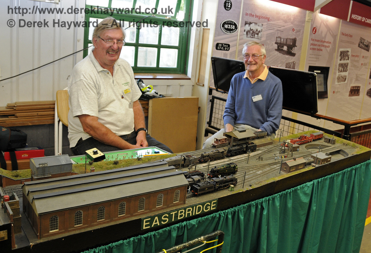 Eastbridge.  Model Railway Weekend, Horsted Keynes, 30.06.2013  9290