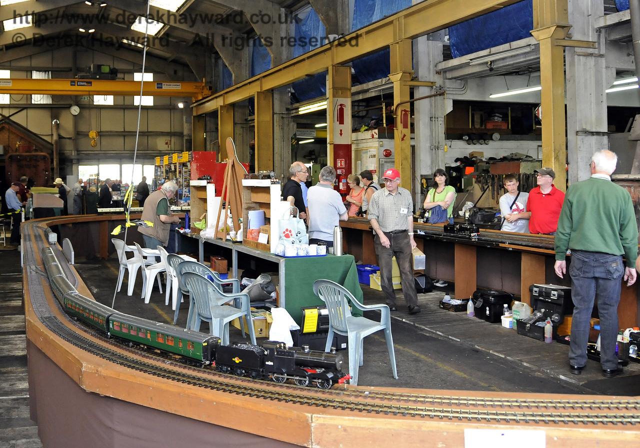 O Gauge Model Railway Association, Invicta Track.  Model Railway Weekend, Sheffield Park, 29.06.2013  9229