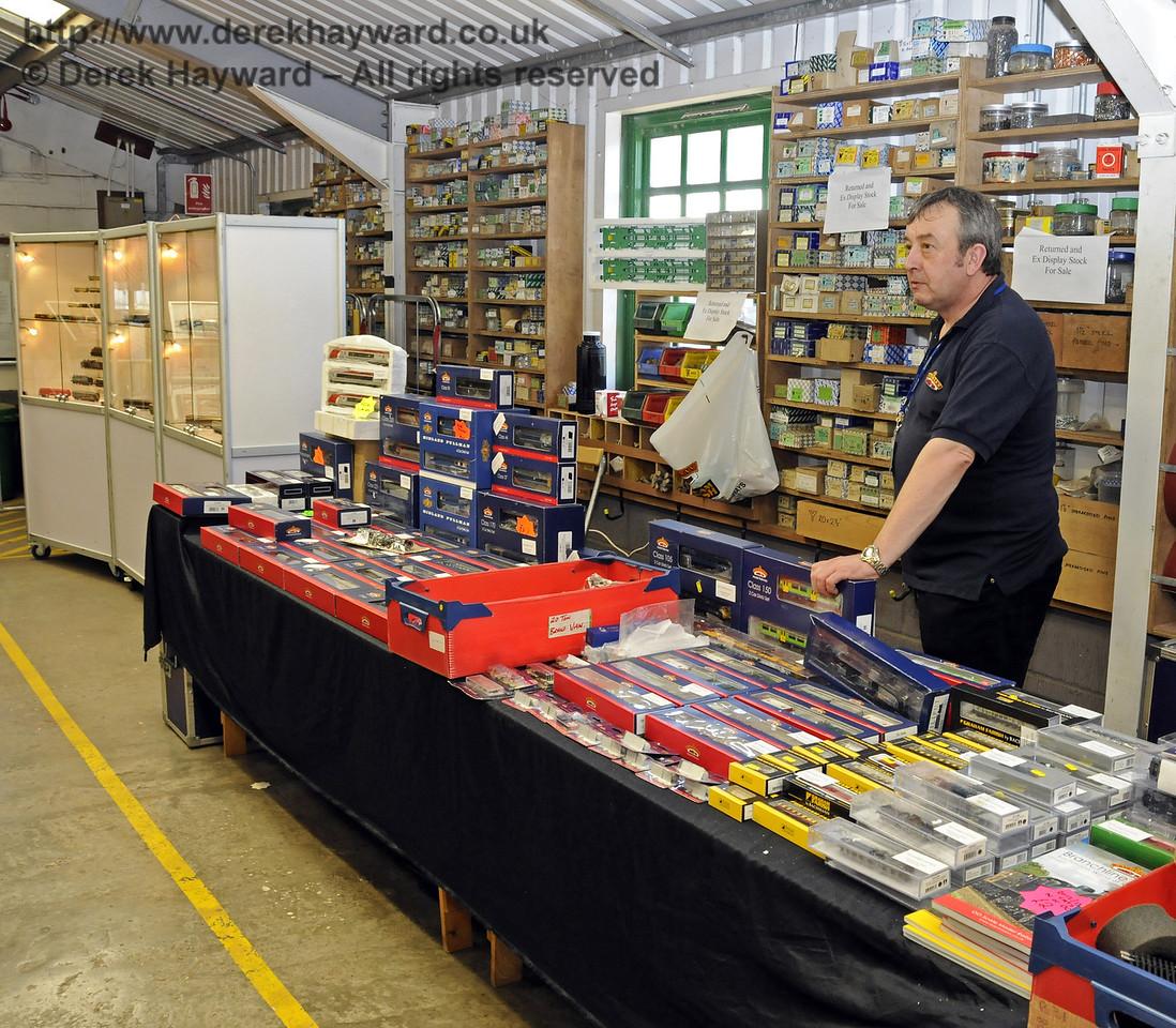 Bachmann.  Model Railway Weekend, Horsted Keynes, 30.06.2013  9295