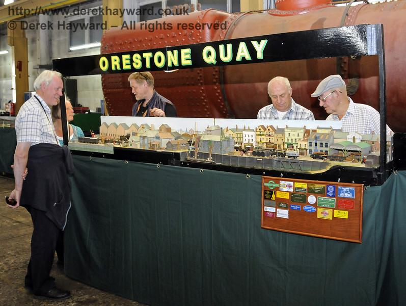 Orestone Quay.  Model Railway Weekend, Sheffield Park, 29.06.2013  9210